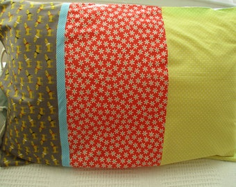 Pillowcases, Sleepover pillowcase, girls and boys pillowcases, chintzy pillowcase, dachshund  pillowcase, floral pillowcase, individual,