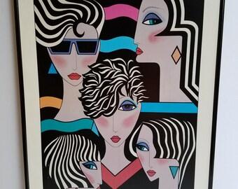 "Art Print  ""Fantasy"" by Audrey Cohle'"