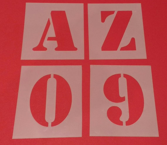 Large letter stencils a z 0 9 full set washable reusable sign large letter stencils a z 0 9 full set washable reusable sign stencils number stencils alphabet stencils from westlondonlaser on etsy studio spiritdancerdesigns Images