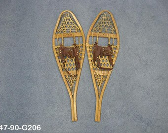 Authentic Vintage Pair of Snowshoes