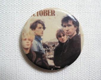 Vintage 80s U2 October Album Promotional - Pin / Button / Badge (1981)