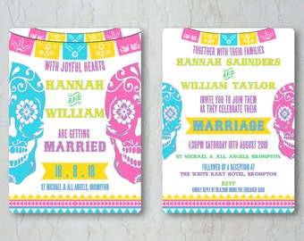 mexican wedding invitations  etsy uk, Wedding invitations