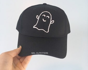 Happy Ghost Baseball Cap