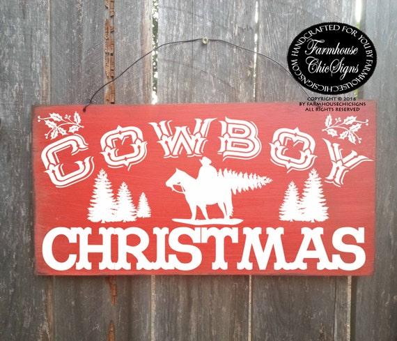 cowboy christmas, cowboy decor, country western decor, country decoration, cowboy sign, christmas sign, Christmas decor, 261/188