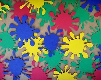 Paint Splatter Svg Cut Files For Cricut Silhouette Shirt