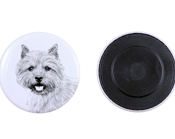 Magnet with a dog - Norwich Terrier