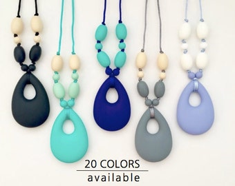 Teething pendants etsy the aly silicone teething necklace for mom pendant silicone mozeypictures Images