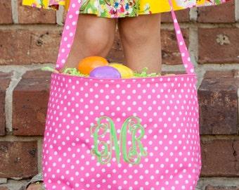 Monogrammed Easter Baskets