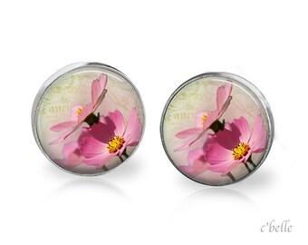 Ear studs of pastellener cherry blossom 15