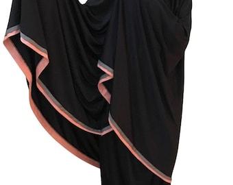 2 piece Black Prayer Womens Hijab Khimar Telekung Ihram Ladies Modest Clothes White Prayer Clothes