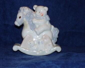 Rocking Horse Ceramic
