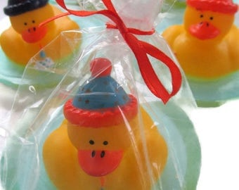 10 duck soap party favors first birthday soap favors birthday party soap favors bath and beauty unscented natural soap rubber ducky soap