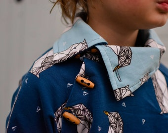 MBJM Adventurer Raglan Sweatshirt PDF Sewing Pattern (Prem./Small Newborn - Age 12)