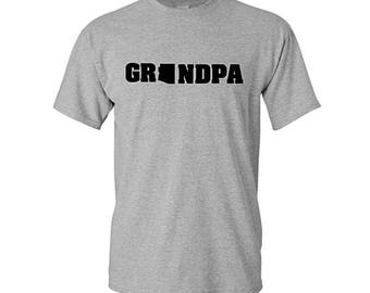 Home State Grandpa Shirts, Father's Day