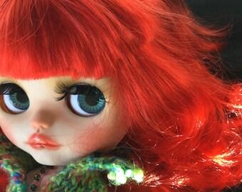 """OOAK Custom Blythe Art Doll """"Jennifer"""" by Bravura Dolly"""