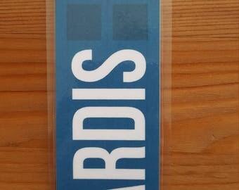 Doctor Who Tardis Bookmark