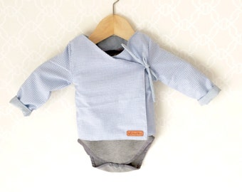 Lined baby cardigan. 100% cotton.