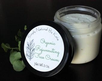Organic Rejuvenating Face Cream