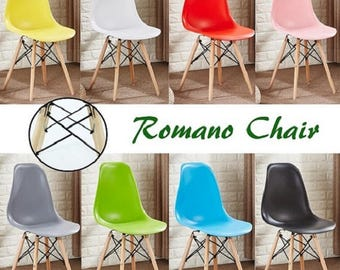 Romano EAMES DSW Style Chair design / chaise DSW design scandinave Dining Chair or Office Chair