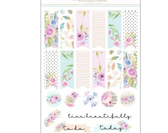 Spring Fever Page Flag Sheet