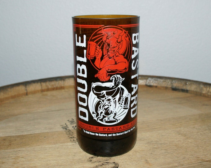 UPcycled Pint Glass - Stone Brewing Co - Double Bastard Ale