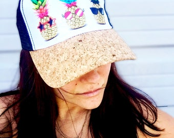 The Fineapple (Hat) ~ #7002