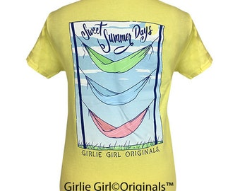 Girlie Girl Originals Triple Hammock Cornsilk Short Sleeve Unisex Fit T-Shirt