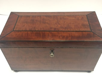 Victorian Tea Caddy