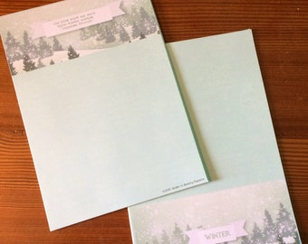 Winter Wonderland Writing Paper-Stationery