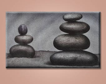 Canvas Print, Stones, Stone Balance Canvas