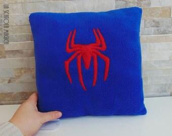 Spiderman cushion Handmade - Icon Plush Pillow - Handmade in Italy