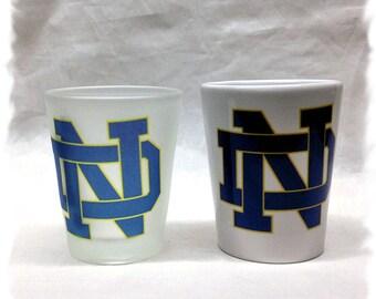 University of Notre Dame Shot Glass