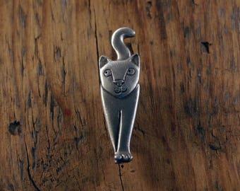 Macho Cat Brooch