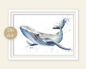 Whale - Print
