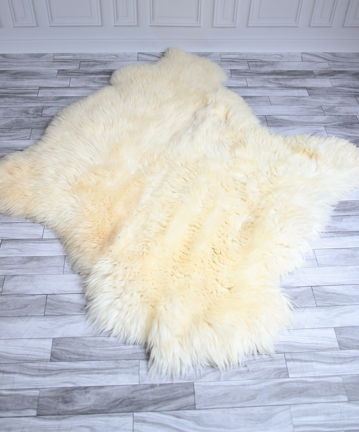 Sheepskin Rug Square: Double Sheepskin Rug Sale