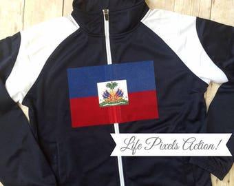 Haiti Track Jacket For Jacque B.