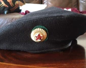 Russian Naval Wool Beret