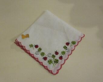 SWITZERLAND LADY BUG Handkerchief