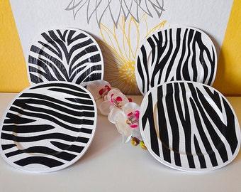 Zebra decor, black white decor, zebra wall art, living room decor, safari nursery, safari nursery decor, safari decor, safari print