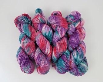 Candyland - 4 ounce Skein - Merino/Nylon/Tencel - Elven