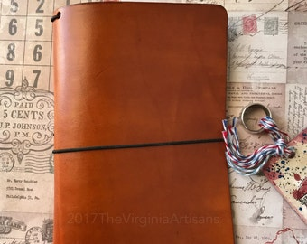 Traveler's Notebook Genuine Leather Cover- The Explorer Series