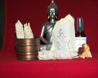 Sage Smudge Cleansing Kit