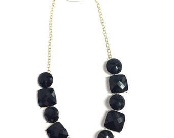 Geometric Stone Necklace