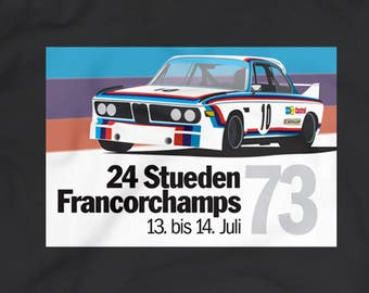 "BMW CSL ""Batmobile"" T-Shirt"