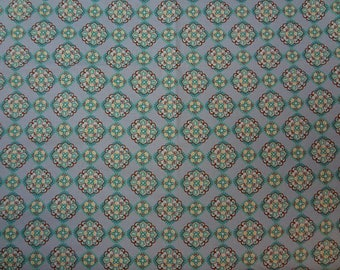 Fabric, Repeated Floral Pattern, Spring Colors, Spring Fabric, Fabric by the Yard
