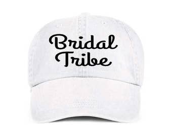 Bridal Tribe Bridesmaids Baseball Style Hat/Cap/Bridal/Wedding/Special Activities/Parties/Showers/Bachelorette Parties