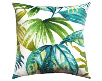 Green Outdoor Pillow Etsy