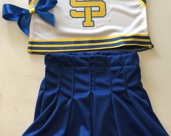 Shake it Off Inspired Cheer Outfit