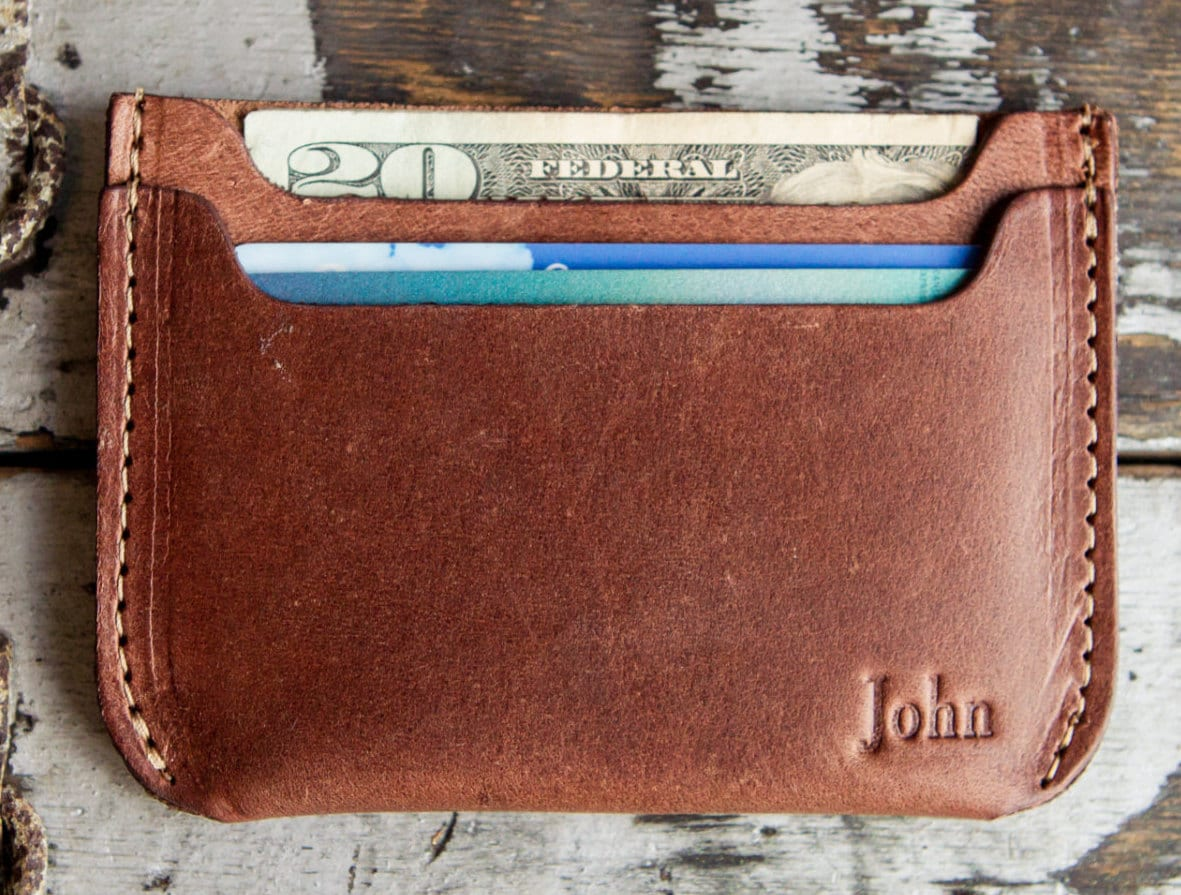 The Bradford Front Pocket personalized Double Sleeve Mens Fine