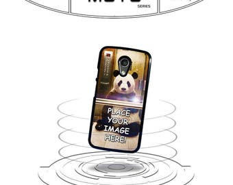 Custom Image Personalized Any for Moto x e g G2 G3 Moto X 2nd Gen Phone Case